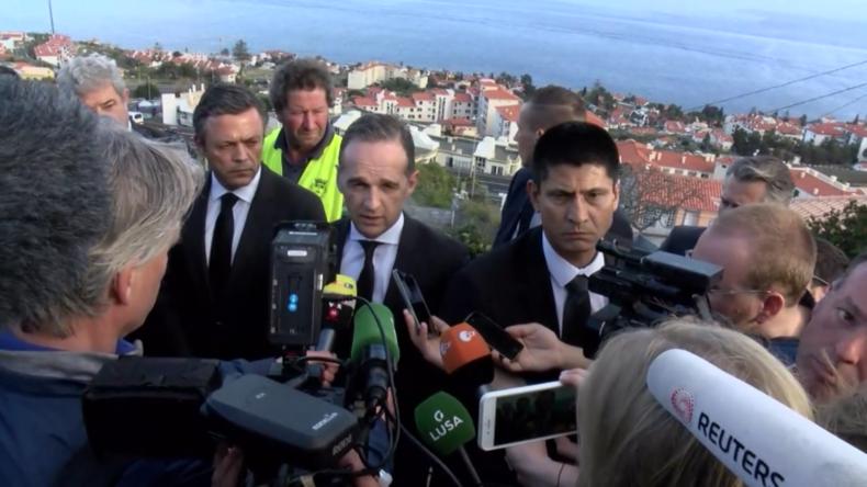 Außenminister Maas dankt portugiesischen Behörden für Unterstützung bei Besuch an Unfallsort