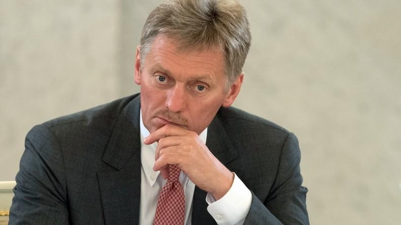 """Kreml-Sprecher Peskow: Mueller-Bericht """"enthält keine neuen Informationen"""""""