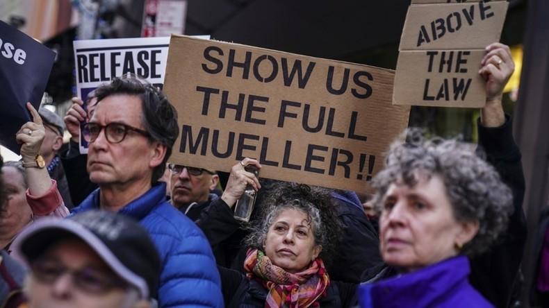 USA: Vorsitzender des Justizausschusses verlangt vollständige Version des Mueller-Berichts