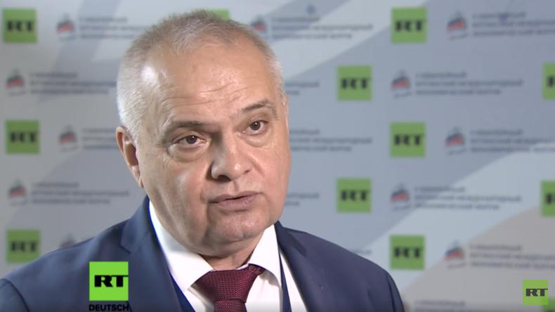 Internationales Wirtschaftsforum in Jalta - Waldemar Herdt (AfD) im Interview mit RT Deutsch (Video)