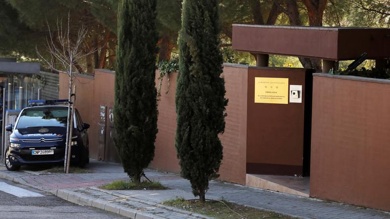 US-Behörden nehmen Ex-Marine wegen Einbruchs in Nordkoreas Botschaft in Madrid fest