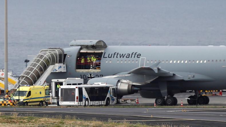 Busunfall auf Madeira: Überlebende fliegen nach Deutschland