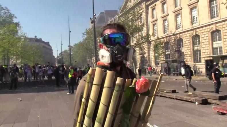 Frankreich: Chaos, Wut und Gewalt beim 23. Gelbwesten-Aufmarsch