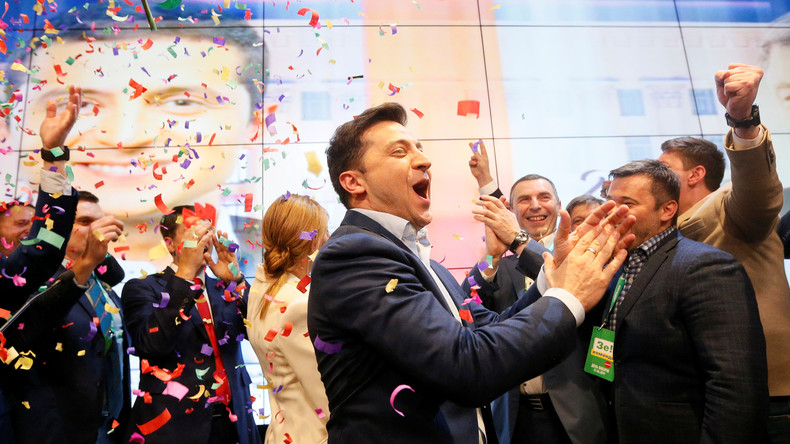 Präsidentschaftsstichwahl in der Ukraine: Selenskij gewinnt mit mehr als 70 Prozent (Live-Updates)