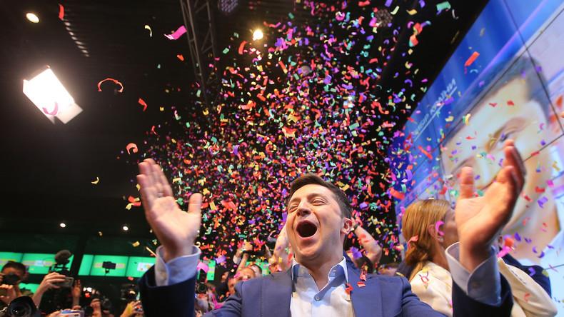 Ukraine: Kiewer Bürger hoffen auf Veränderungen mit neuem Präsidenten