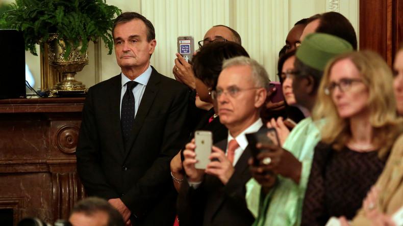 """Abgang mit Knalleffekt: Scheidender französischer Botschafter in USA nennt Israel """"Apartheidstaat"""""""