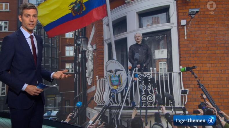 Dr. Gniffkes Macht um Acht: Komplettversagen der ARD bei Berichterstattung zu Assange