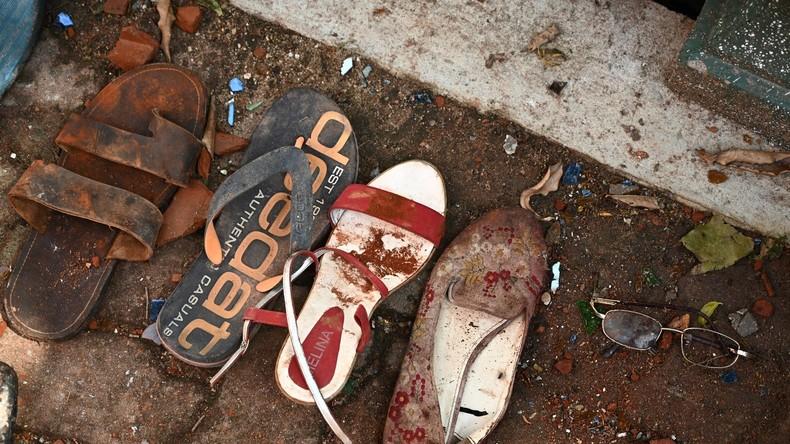 Blutige Osterfeiertage in Sri Lanka