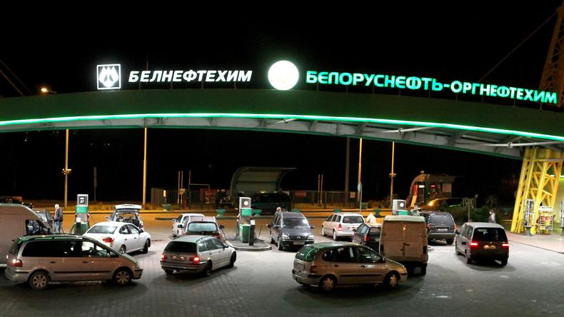 """""""Wegen Qualitätsmängeln"""" - Weißrussland setzt Ausfuhr von Ölprodukten in Nachbarländer aus"""