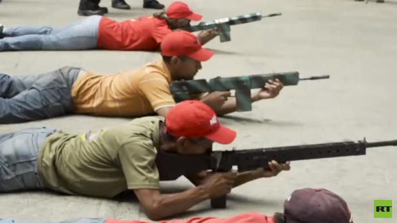 Venezolanische Volksmilizen: Die Revolution um jeden Preis verteidigen (Videoreportage)