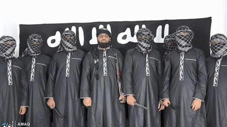 Nach Attentaten in Sri Lanka: IS veröffentlicht Bild von angeblichen Selbstmordattentätern