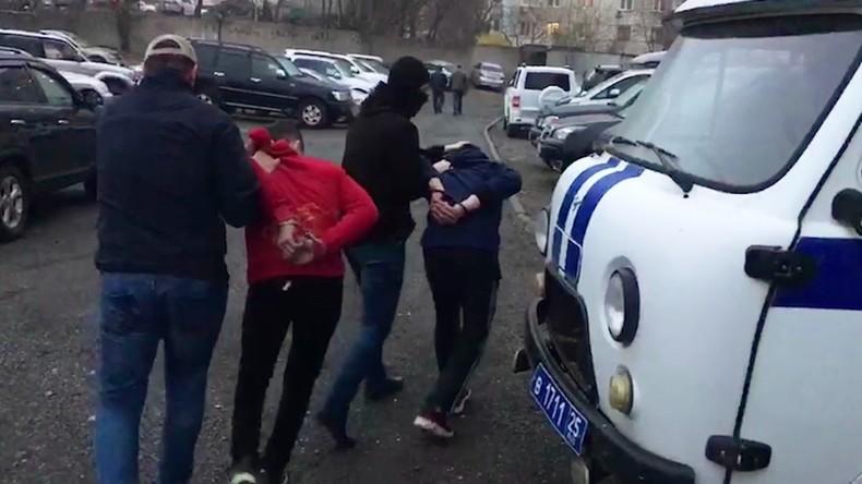 Russischer Inlandsgeheimdienst verhaftet IS-Mitglieder, die Anschläge gegen Polizei planten
