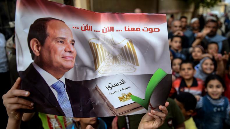 Ägypter haben entschieden: Präsident Al-Sisi soll mehr Macht bekommen