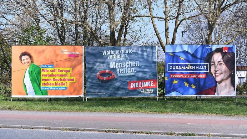 Umfrage zu Europaparlamentswahl: Spitzenkandidaten sind jedem Zweiten völlig unbekannt