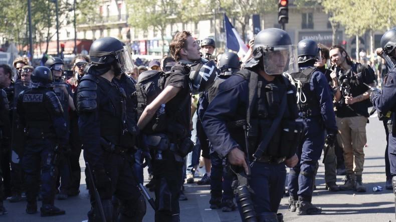 Polizei in der Kritik: Französische Medien solidarisieren sich mit festgenommenem Journalisten