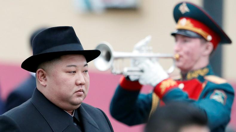 Kim Jong-un erreicht Wladiwostok für erstes Gipfeltreffen mit Wladimir Putin