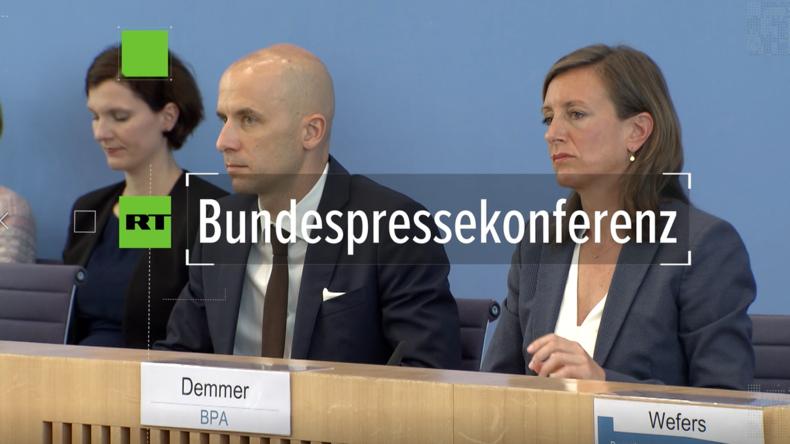 Bundespressekonferenz: Nord Stream 2 im deutschen Interesse
