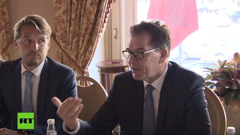 CSU-Entwicklungsminister Müller lobt deutsch-russische Kooperation: Enorme Potenziale