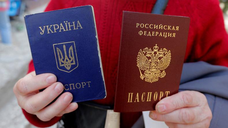 Aufregung um Russlands Donbass-Dekret: Westlicher Zynismus par excellence