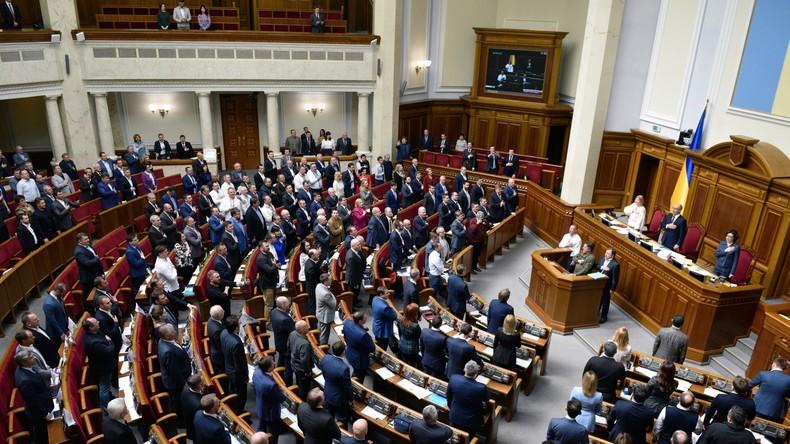 Per Gesetz: Ukrainisches Parlament will russische Sprache aus dem Alltag verbannen
