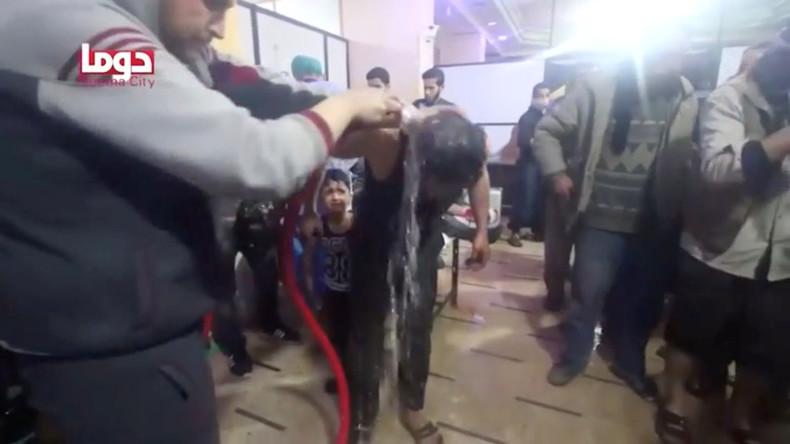 Russischer UN-Botschafter: Weißhelme bereiten False-Flag-Chemiewaffeneinsatz in Syrien vor