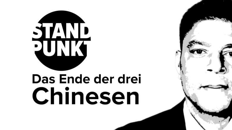 """Das Ende der """"drei Chinesen"""": Neue Seidenstraße lässt Wertewesten alt aussehen (Video)"""
