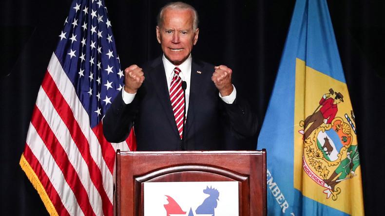 Joe Biden will US-Präsident werden – Wird ihm die Vergangenheit zum Verhängnis? (Video)