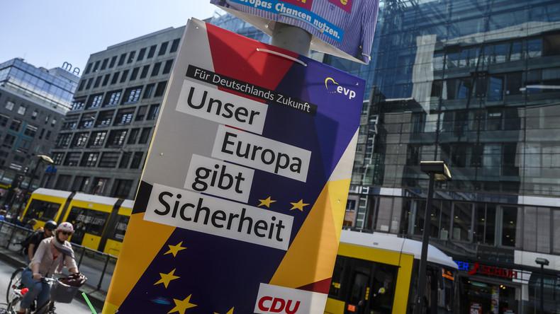 Umfrage zur Europawahl: Deutsche haben positives EU-Bild
