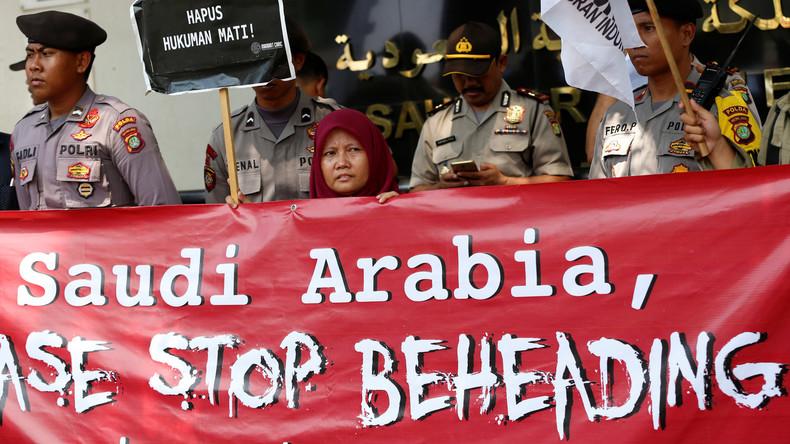 Das saudische Justizsystem: Köpfen, Verstümmeln, Lähmen, Kreuzigen (Video)