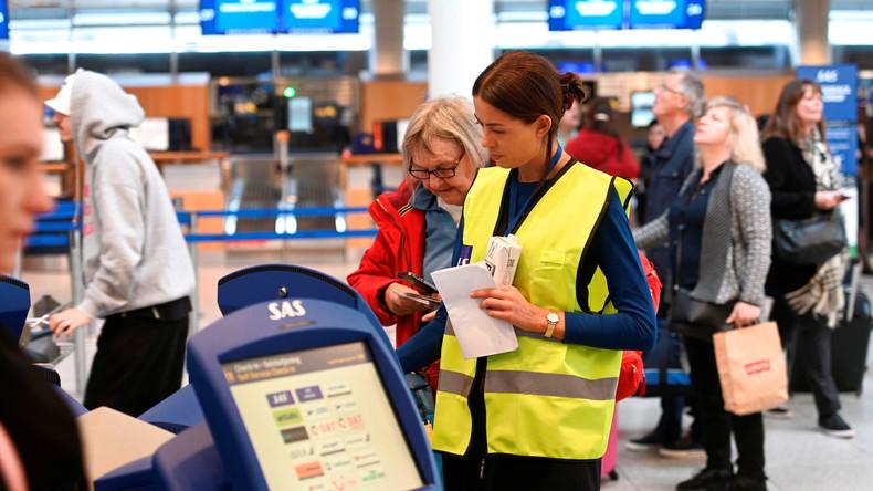 Pilotenstreik: Hunderte Piloten der skandinavischen Fluggesellschaft SAS legen Arbeit nieder