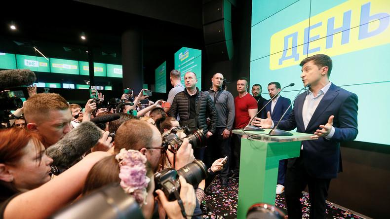 Nachlese zur Ukraine-Wahl: Deutscher Medien-Mainstream als politischer Akteur