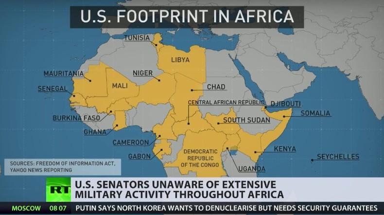 Pentagon außer Kontrolle? - Geheimniskrämerei um Afrika-Einsätze des US-Militärs (Video)