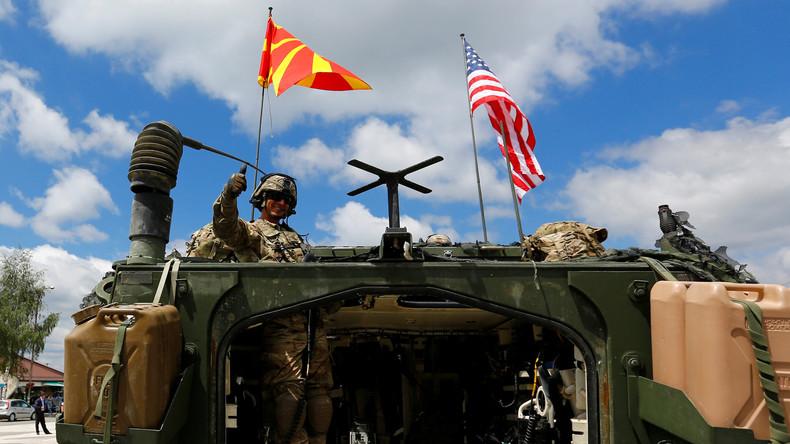 Serbien im Visier? NATO-Großübung mit US-Kampfjets und über 4.000 Soldaten in Mazedonien