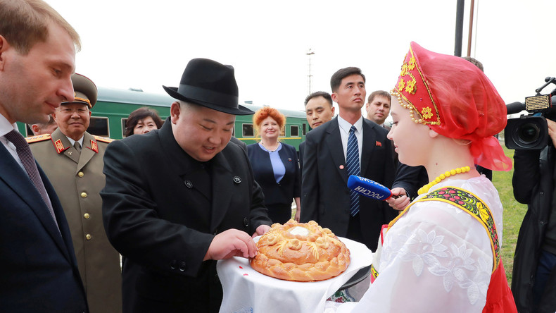 Erster Besuch von Nordkoreas Oberhaupt Kim Jong-Un in Russland