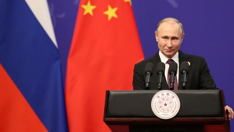 "LIVE: Wladimir Putin gibt Pressekonferenz im Anschluss an das ""Belt and Road Forum"" in Peking"