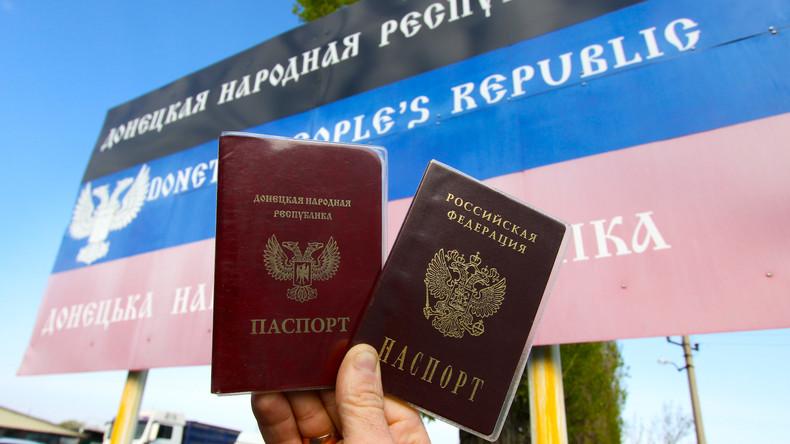 Deutschland: Berlin verurteilt Russlands Passdekret für die Ostukraine