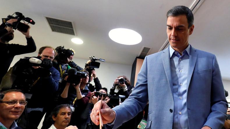 Parlamentswahlen in Spanien haben begonnen