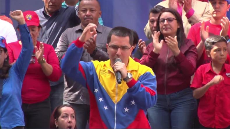 Venezuela: Chavistas feiern Austritt aus der OAS