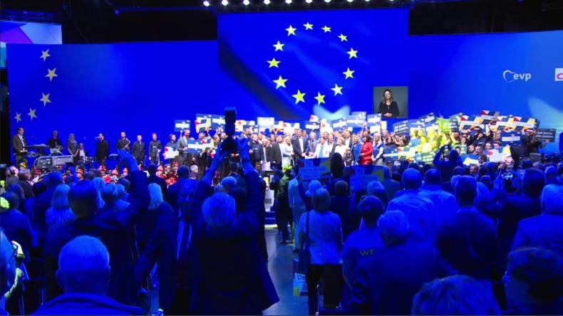 Deutschland: CDU und CSU starten ersten gemeinsamen EU-Wahlkampf in Münster