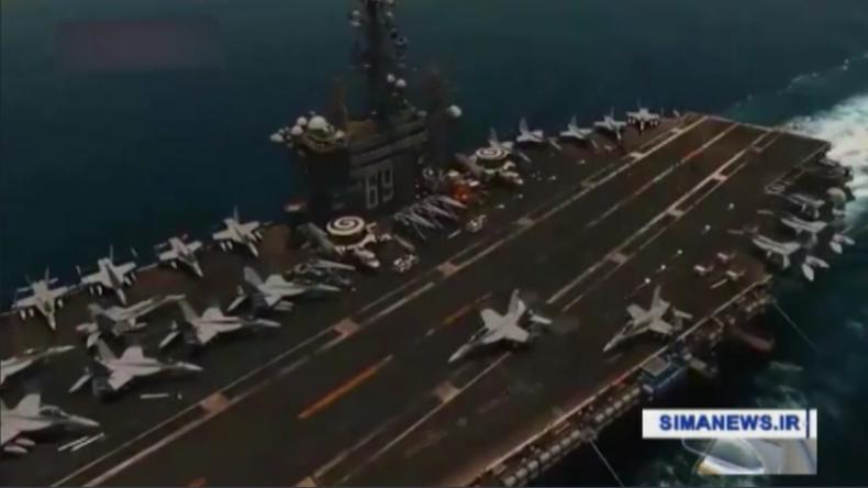 Iranische Drohnen sollen US-Flugzeugträger im Persischen Golf überflogen haben