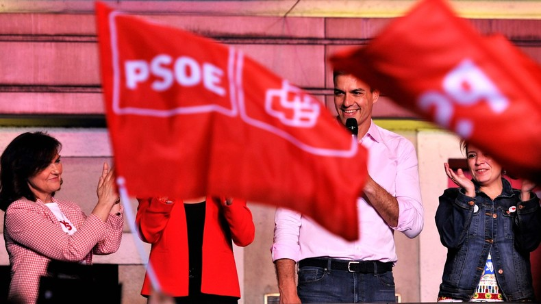 Parlamentswahl in Spanien: Sozialisten holen die meisten Stimmen, aber keine absolute Mehrheit