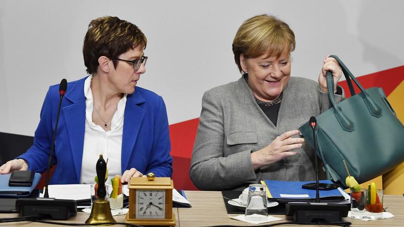 Außerplanmäßige Klausur nach EU-Wahl: Plant die CDU Merkels Abgang?