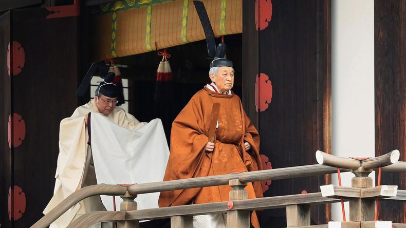 Nach 30 Jahren Regentschaft: Japans Kaiser Akihito dankt ab