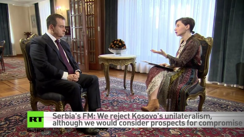 Außenminister Serbiens im Interview: Vučić-Regierung wird nicht wegen Protesten zurücktreten