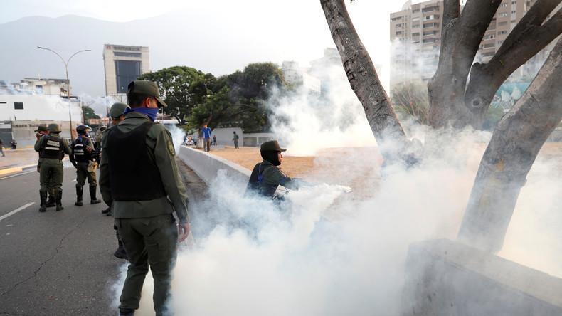 LIVE: Putschversuch in Venezuela - Live von der Militärbasis La Carlota in Caracas