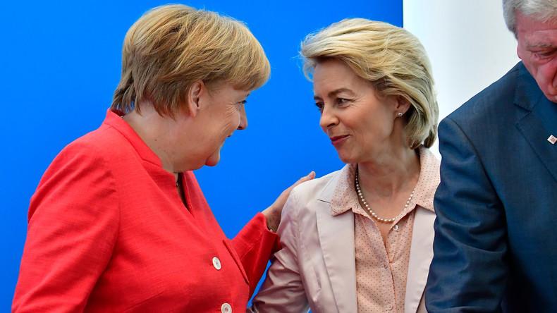 """Von der Leyen: """"Große"""" Koalition soll weitermachen"""