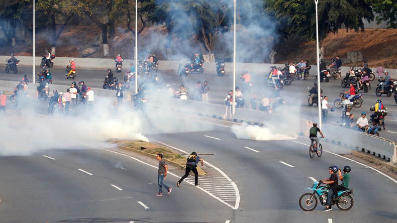 Venezuela: Widersprüchliche Aussagen zum Putschversuch durch Teile des Militärs (Video)
