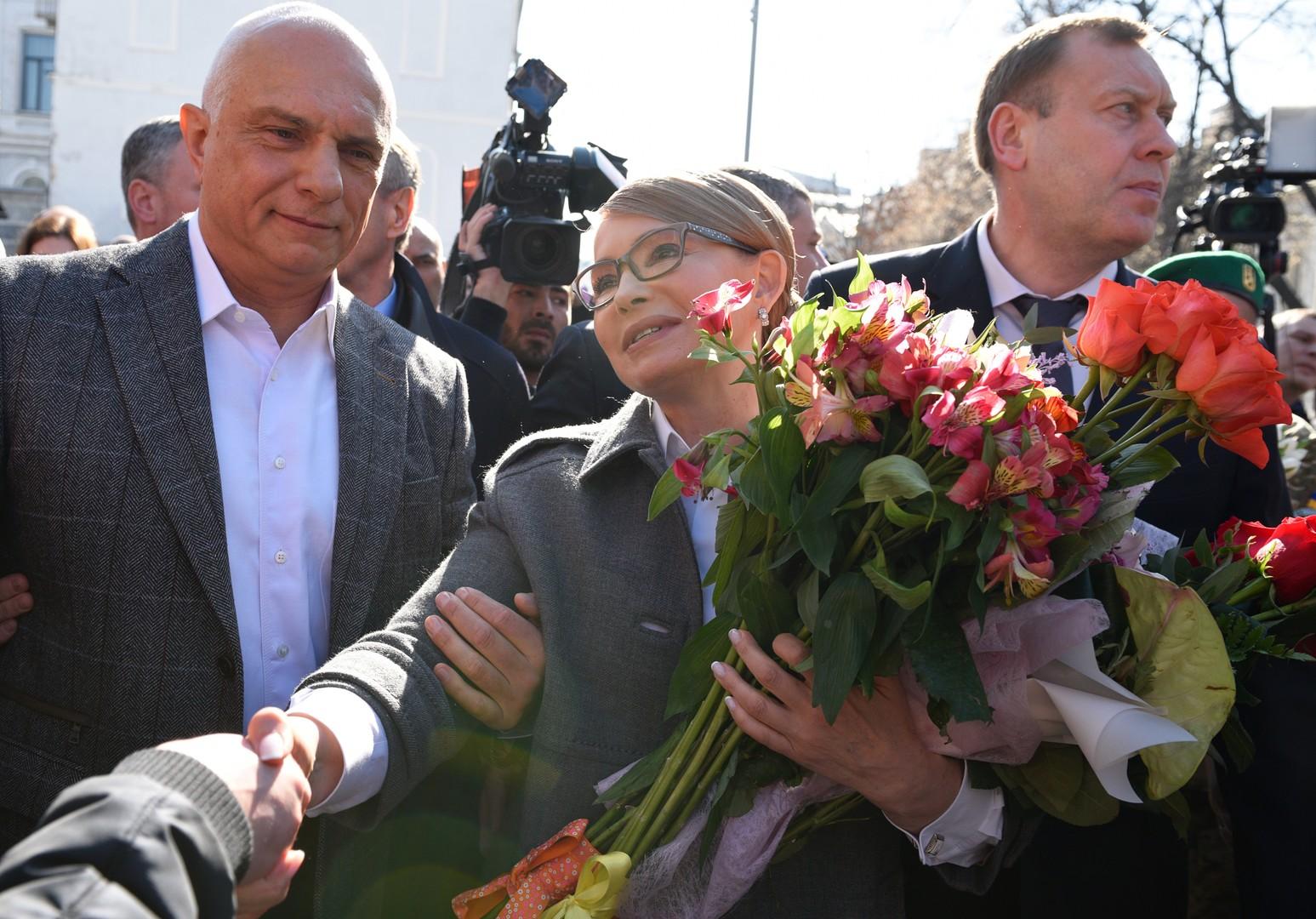 Ex-Regierungschefin Julia Timoschenko