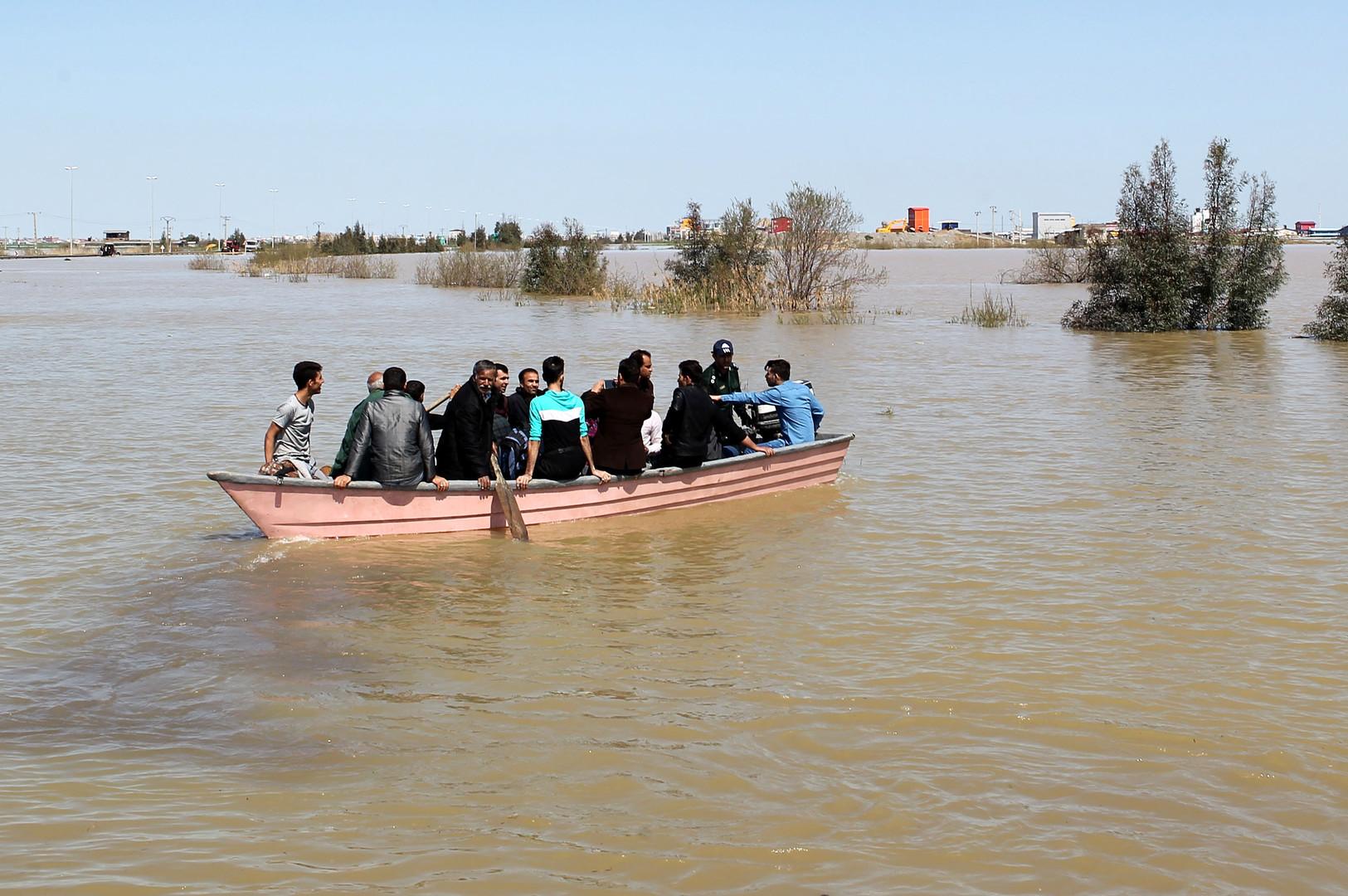 Überschwemmungskatastrophe im Iran: US-Sanktionen erschweren Hilfs- und Rettungsaktionen