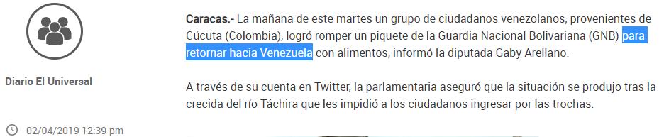 """""""Tausende Venezolaner stürmen die Grenze"""" – Wie die dpa sich ihr Narrativ passend schreibt"""